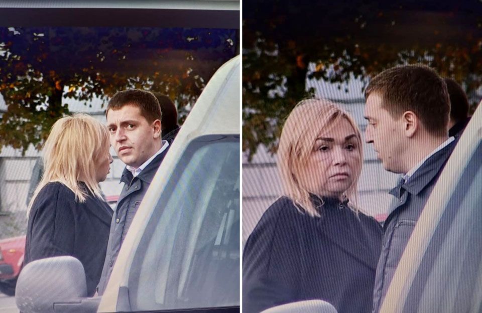 Матір Наталії Саєнко Надія Одарюк та прокурор Тарас Турчин
