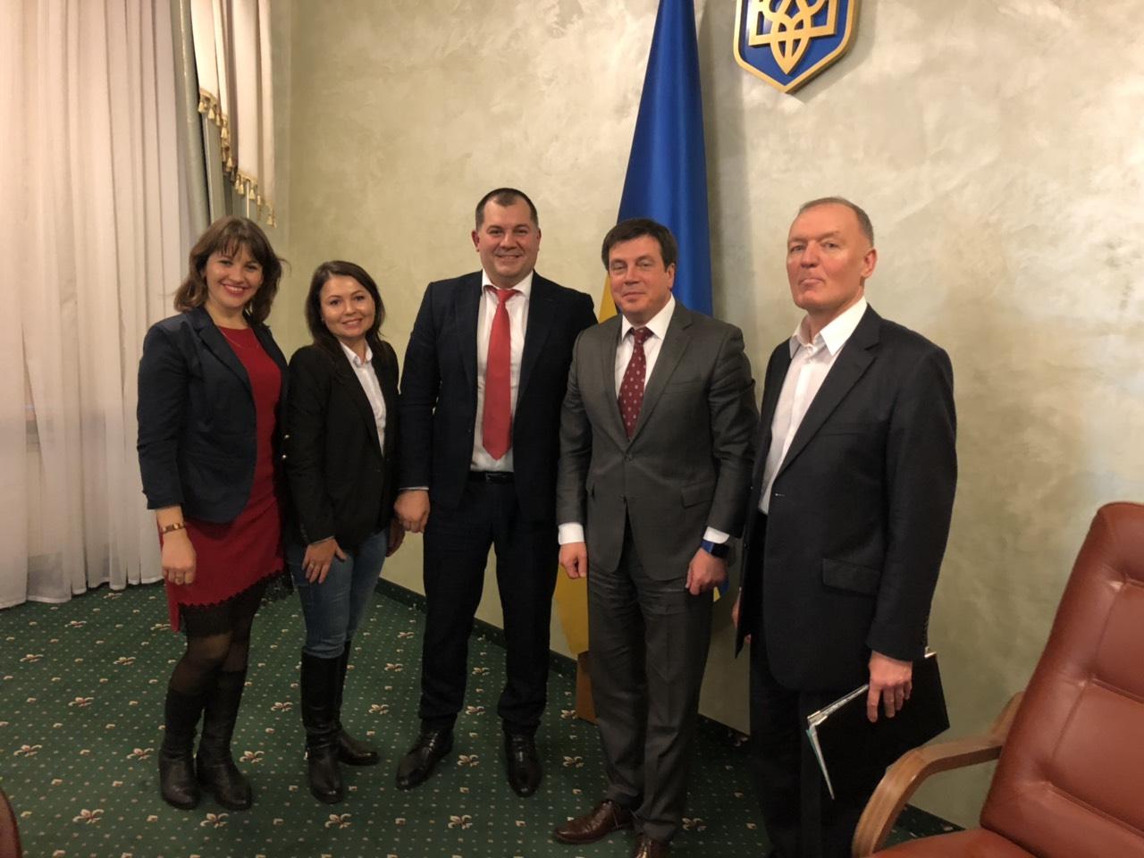 Презентація наших досягнень у Кабінеті міністрів України