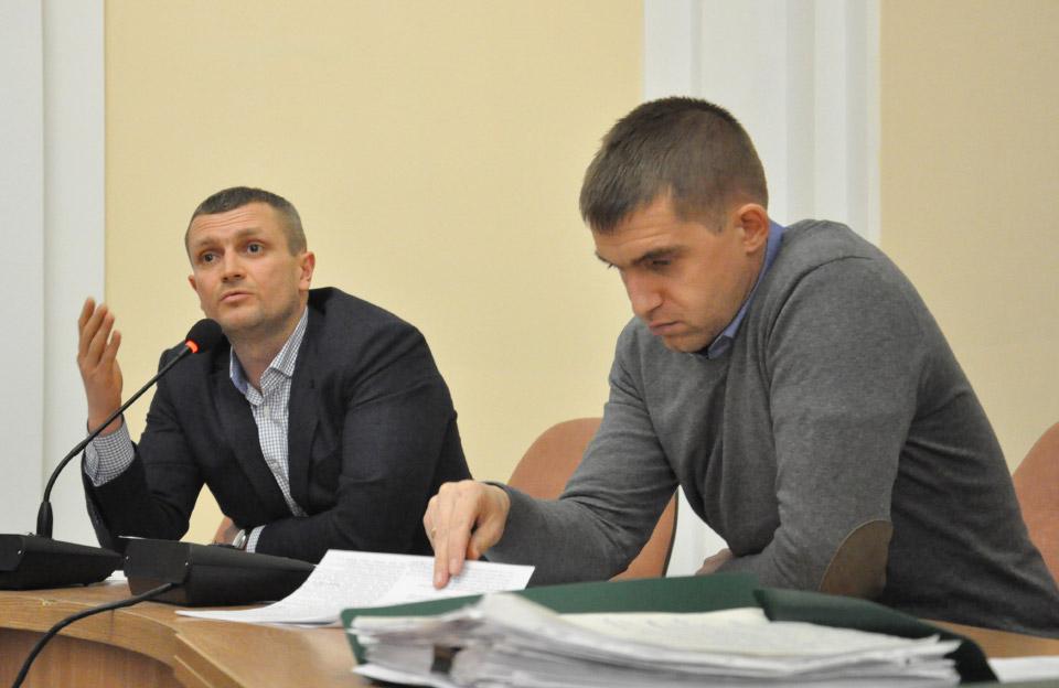 Олексій Чепурко та Сергій Сінельнік