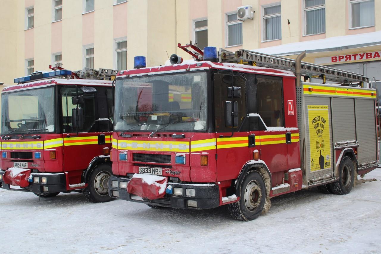 Через 4 дні виснажливою дороги шотландські рятувальні автомобілі добралися до Полтави