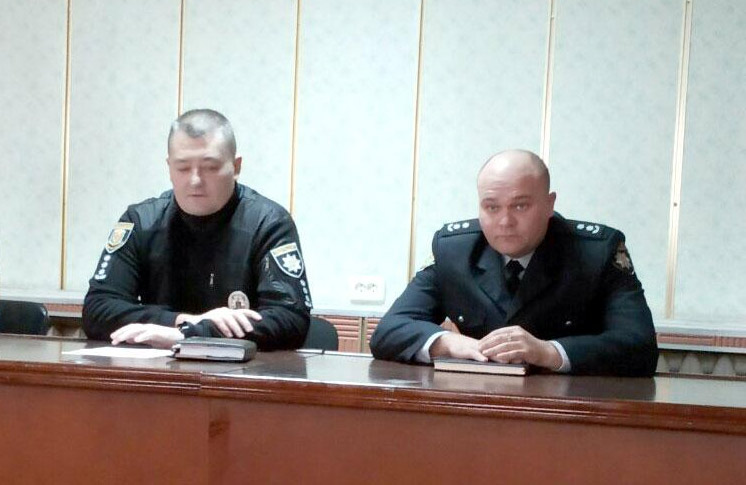 Олександр Терела та Олександр Кравченко