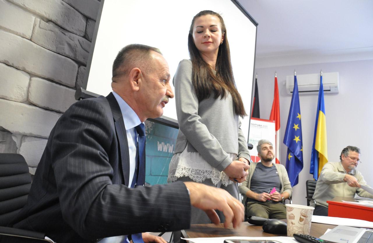 Олександр Кудацький та Галина Нерета