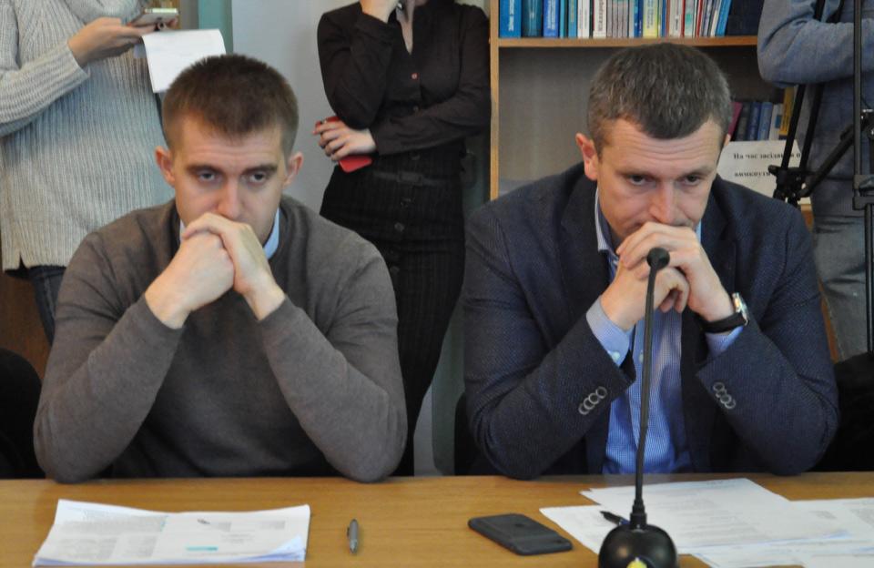 Сергій Сінельнік та Олексій Чепурко