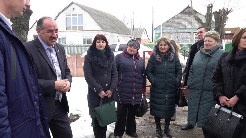 Учасники делегації у Мачухівську ОТГ