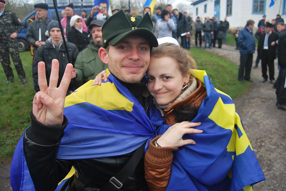Олег Супруненко з дружиною Анікою Лісовець