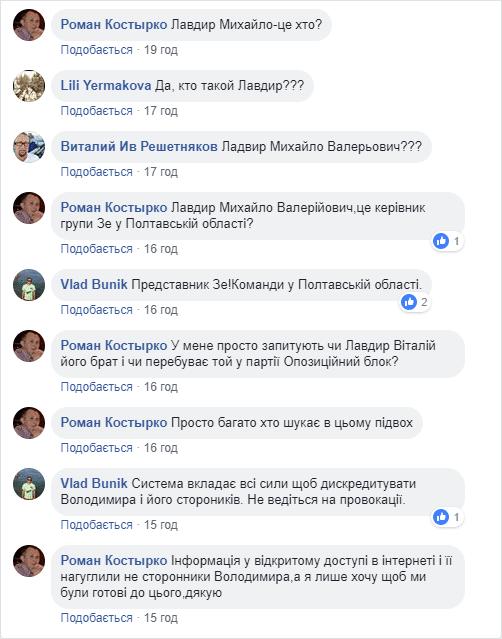 Обговорення Михайла Лавдира