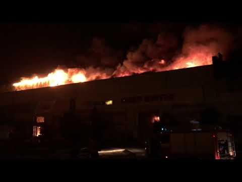 Пожар в Полтаве на зыгина !