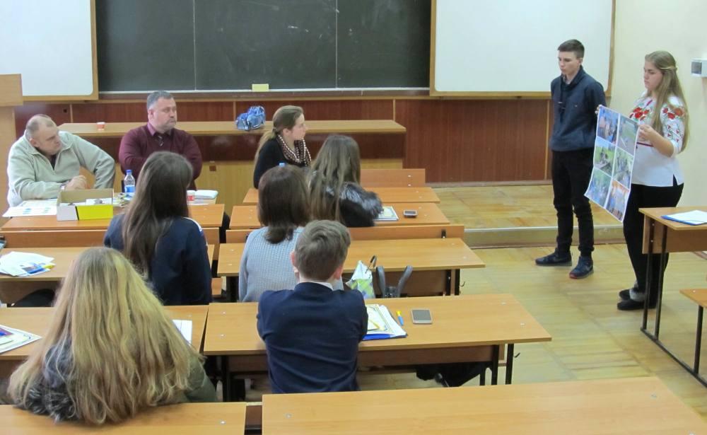 Свої доробки учасники презентували в різних секціях