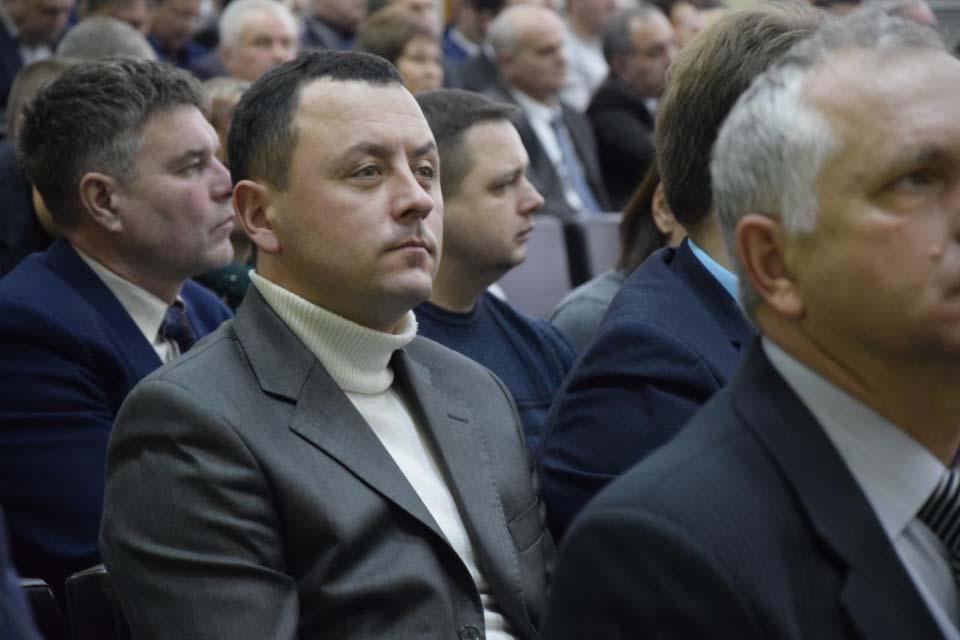 Коломацький сільський голова Євген Почечун