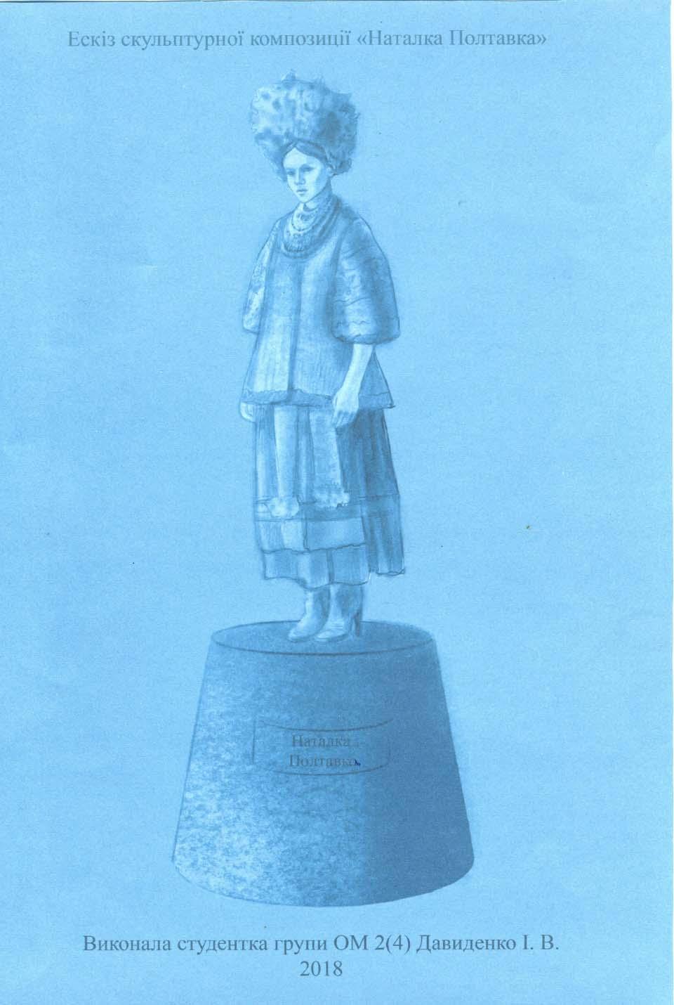 № 5. «Наталка Полтавка ». Автор: Давиденко І.