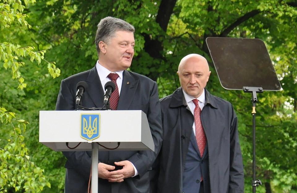 14 березня Image: Президент України Петро Порошенко відвідає Полтаву 16