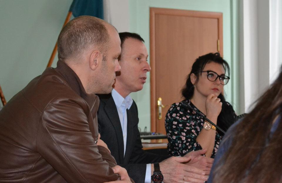 Євген Ніколаєнко, Андрій Матковський та Тетяна Юрченко