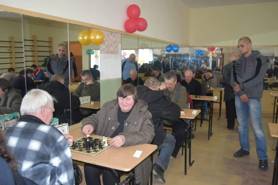 Турнір з шахів присвятили пам'яті В. Ступаря