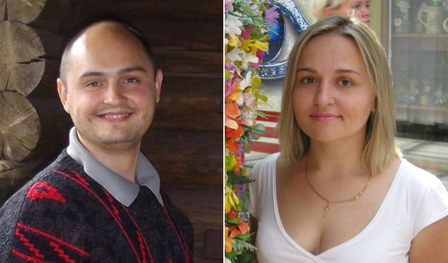 Роман Мягкохліб та Анастасія Йовенко