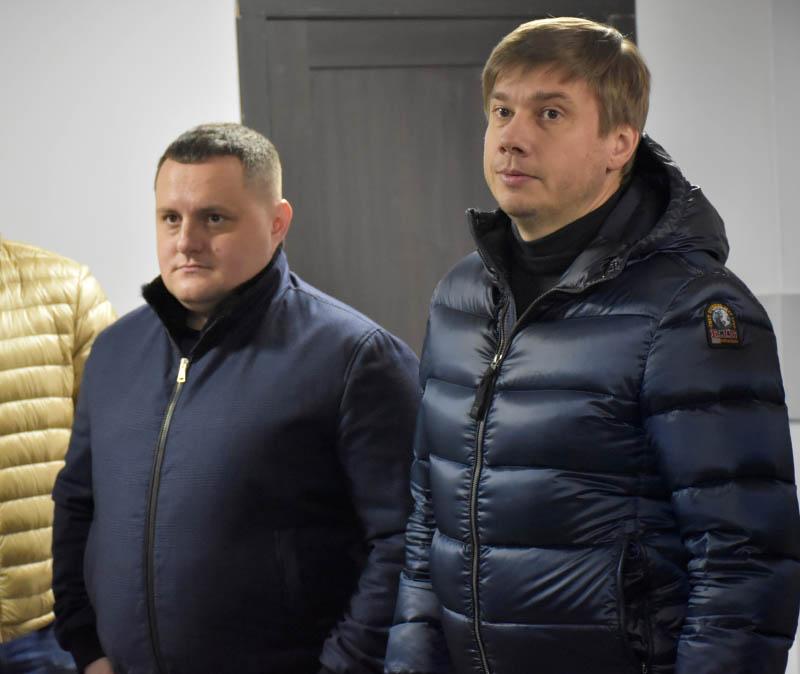Тимофій Голбан та Олександр Біленький