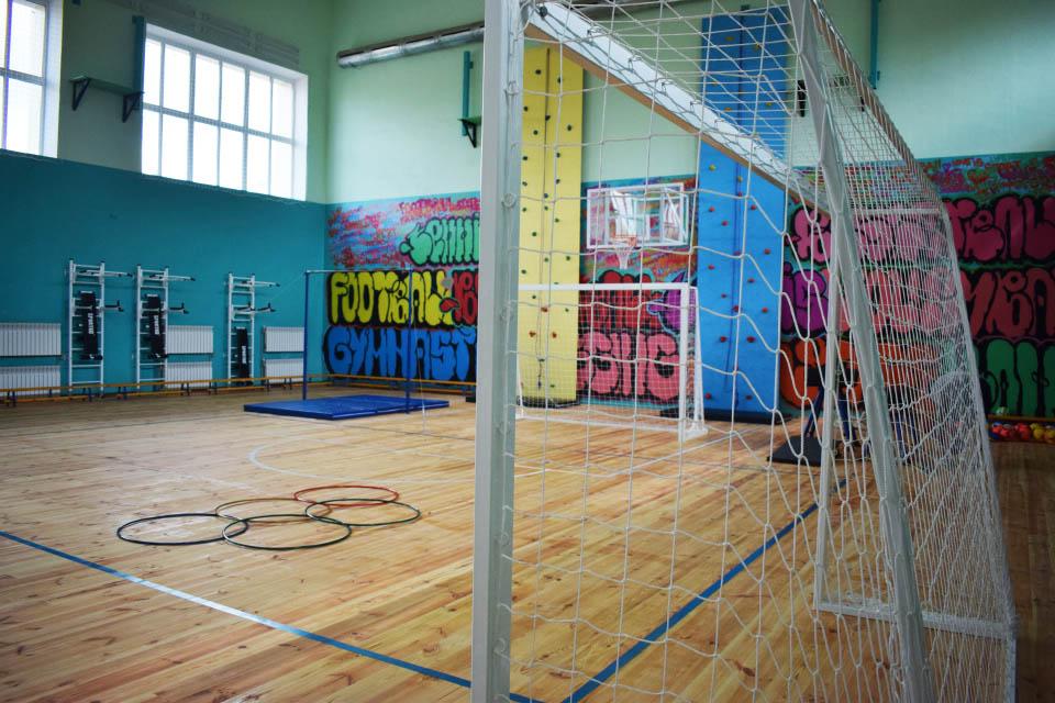 Сучасний спорткомплекс на базі училища