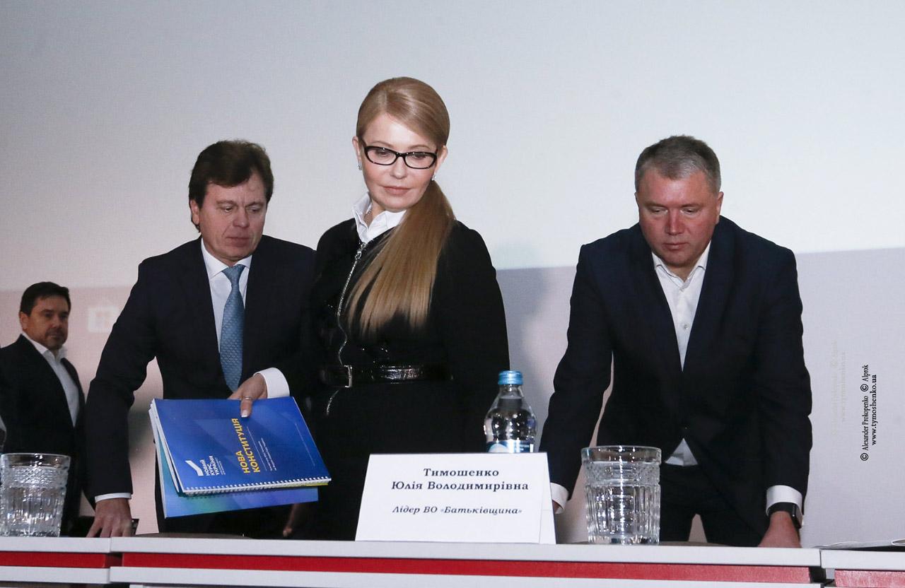 Андрій Соколов, Юлія Тимошенко та Олег Бєлоножко