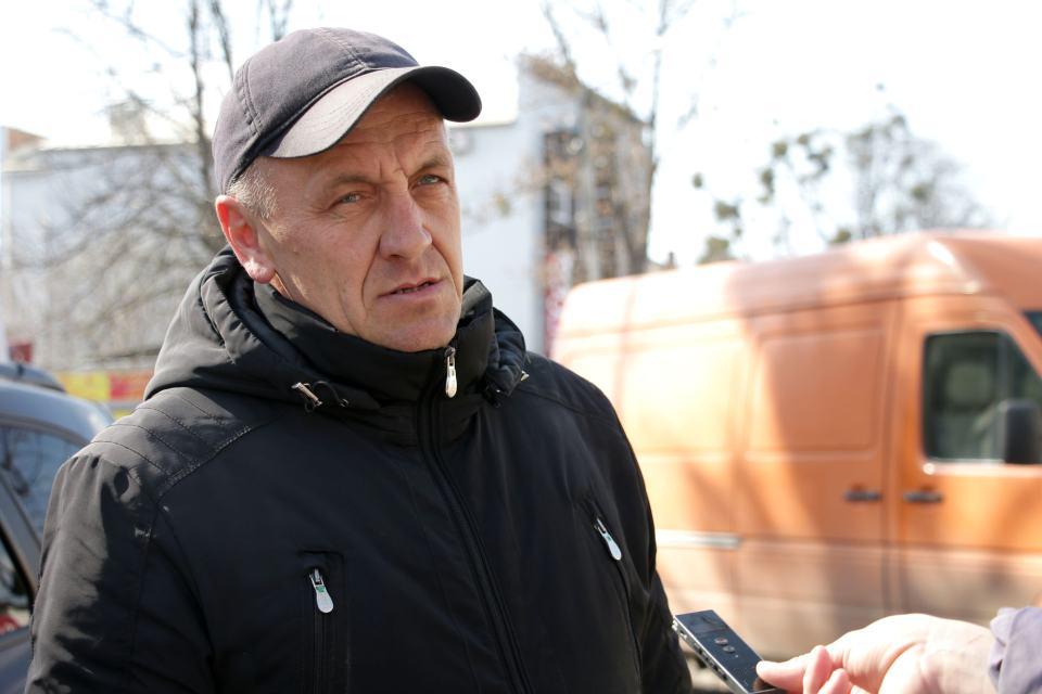 Майстер з ремонту водопровідних мереж «Полтававодоканалу» Іван Дзекун