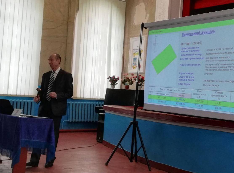 Право оренди ділянки Коломацька ОТГ продала втричі дорожче, ніж планувала