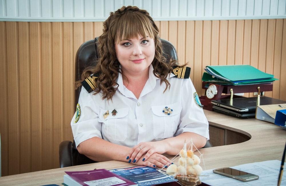 Начальниця Управління Держрибагенства в Полтавській області Оксана Кулинич