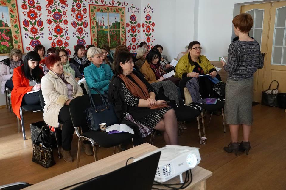 Освітяни Полтавщини обговорили важливість формування культури лідерства в школах