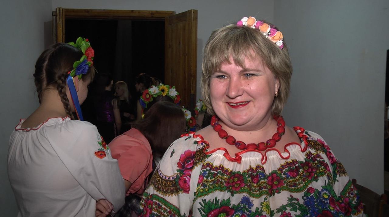 Ліна Глова, учасниця концерту, директорка Пригарівського СБК
