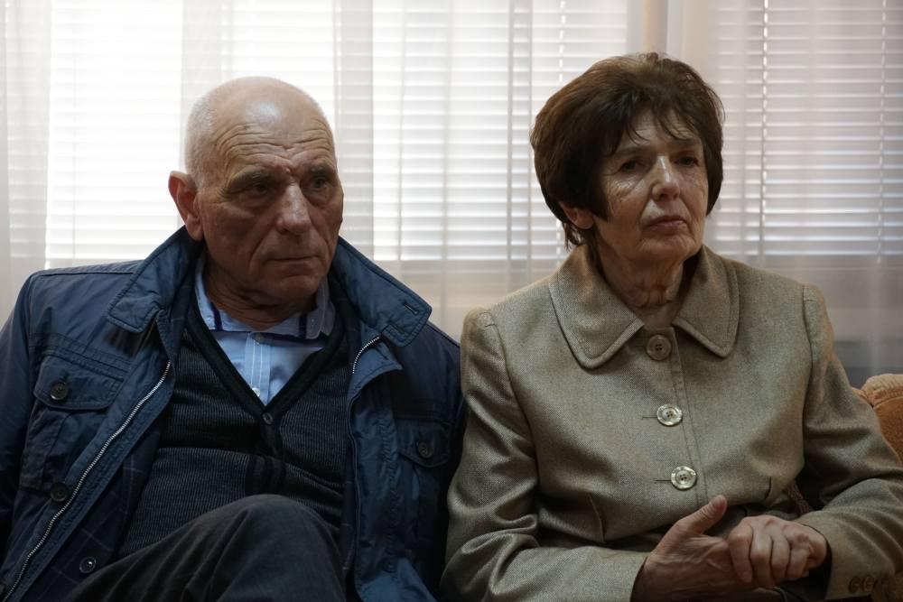 Донька Лева Вайнгорта Тетяна Шульгіна разом з чоловіком
