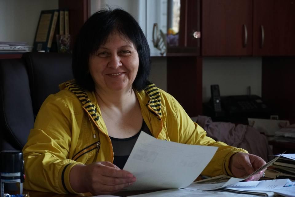 Ковалівська сільська голова Наталія Нос