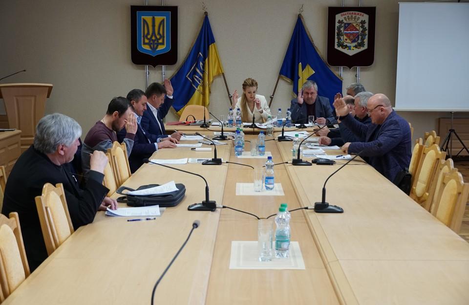 Засідання бюджетної комісії Полтавської обласної ради