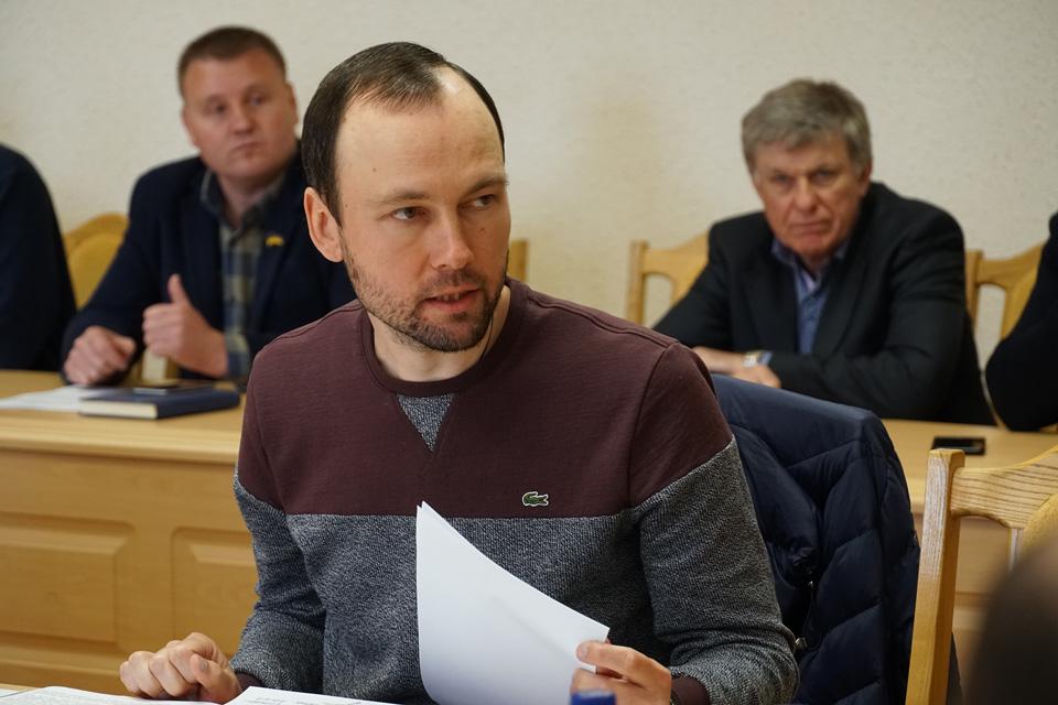 Ланнівський сільський голова Костянтин Удовиченко