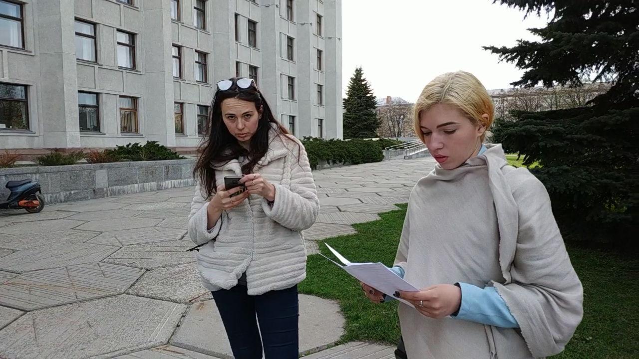 Юлія Гордон та Ірина Дзюбенко