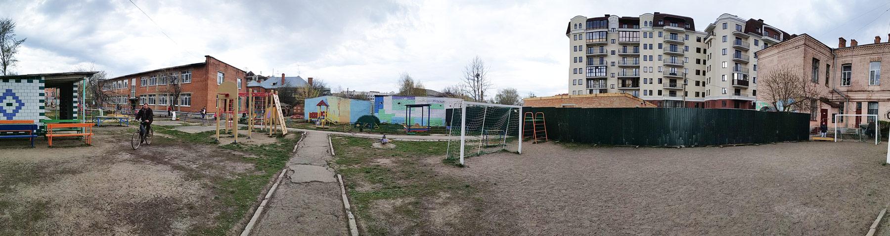 Територія СНВК № 26 у Полтаві