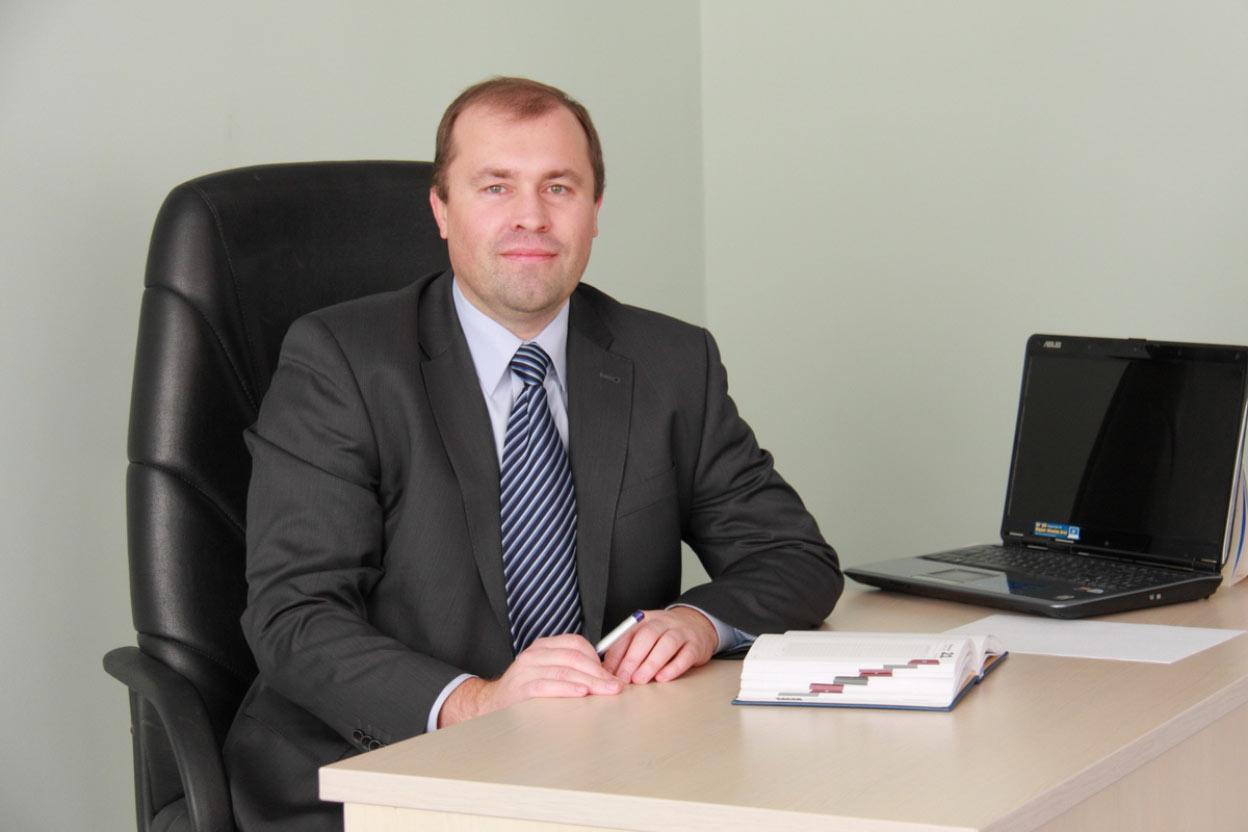 """Генеральний директор """"Полтаватеплоенерго"""" Олександр Олексенко"""