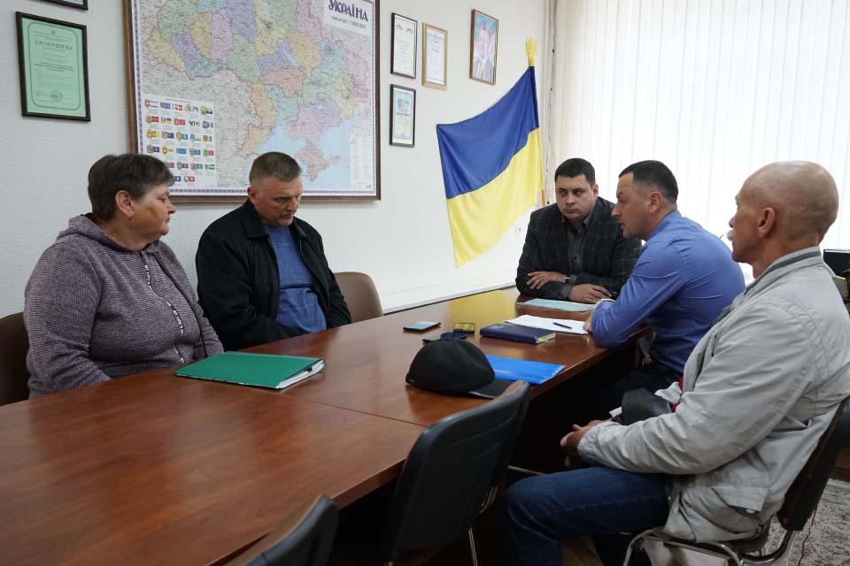 На зустрічі з Вадимом Чувпилом