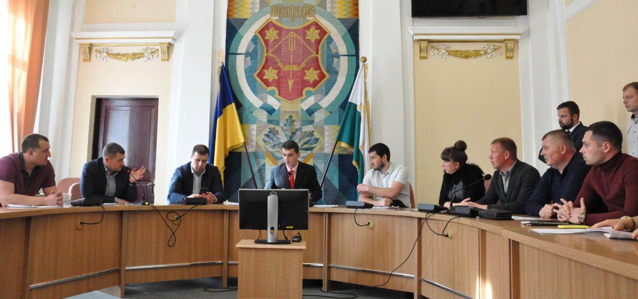 Члени містобудівної депутатської комісії