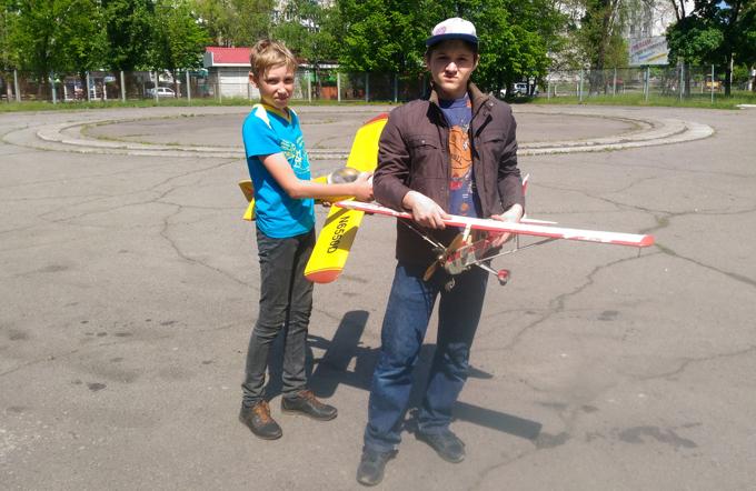 На Полтавщині відбулись обласні авіазмагання