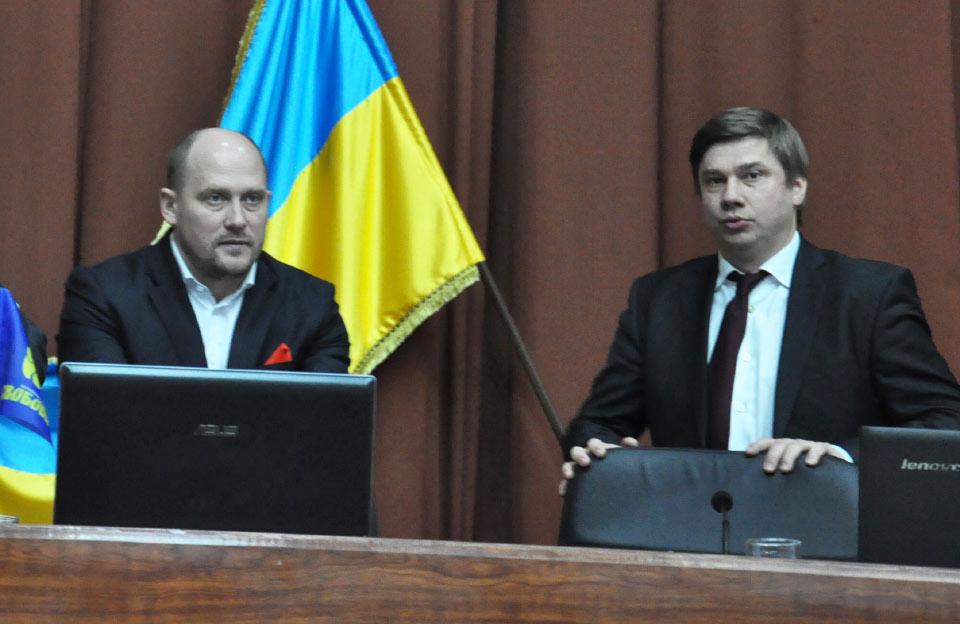 Сергій Каплін та Олександр Біленький