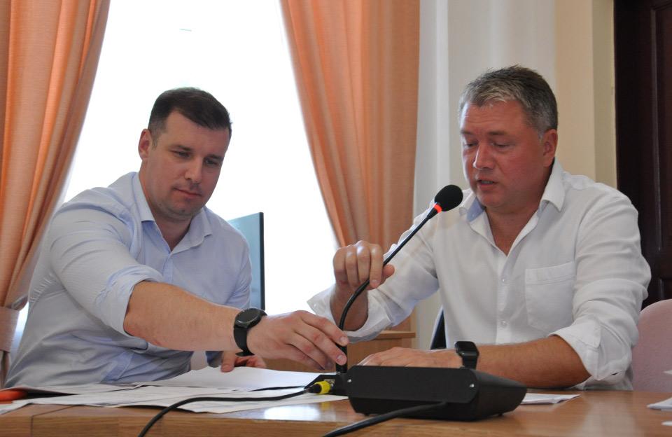 Олександр Шамота та Олег Бєлоножко
