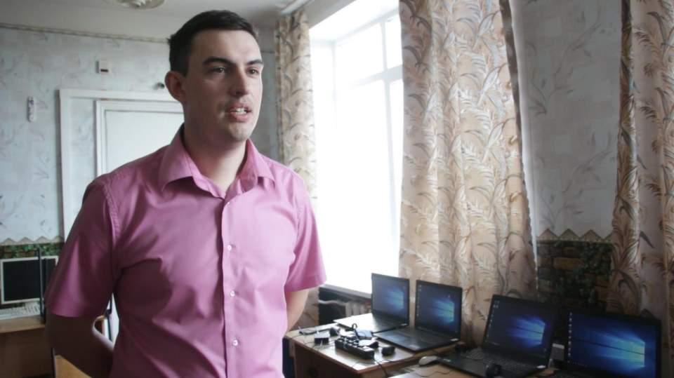 Дмитро Баталов, вчитель інформатики Великокринківської школи