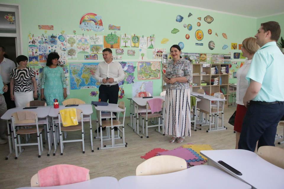 Початковий клас у Розсошенській гімназії