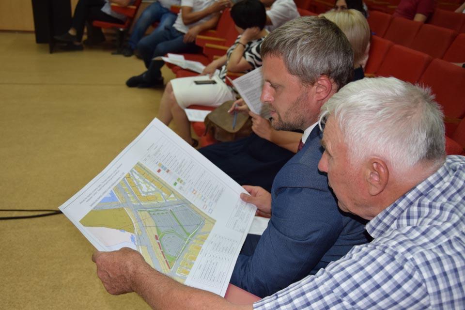 Депутати вивчають детальний план Розсошенців