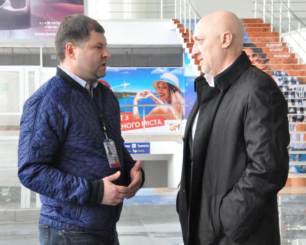 Володимир Окара та Валерій Головко