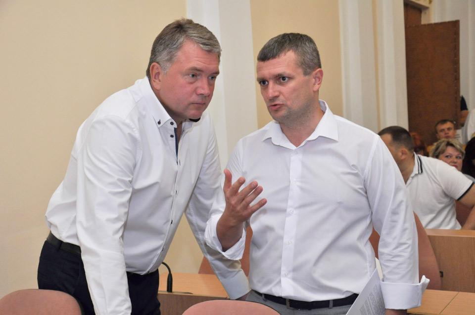 Олег Бєлоножко та Олексій Чепурко