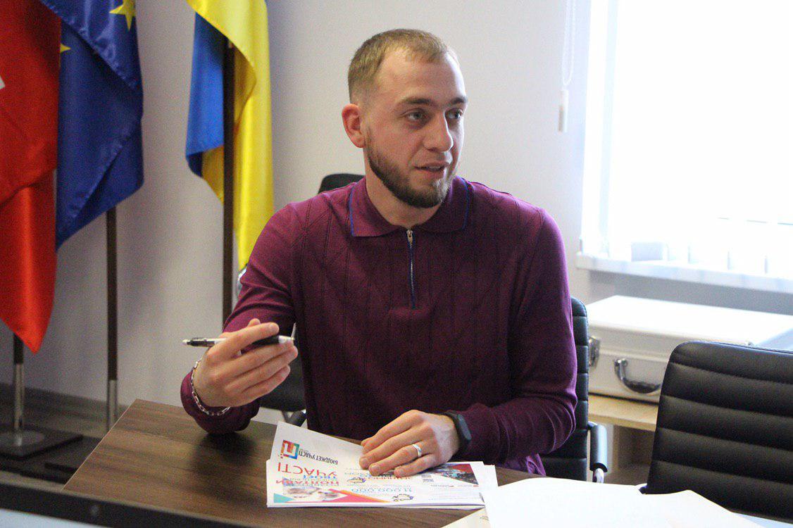 Голова робочої групи з питань партиципаторного бюджетування Олександр Глазов