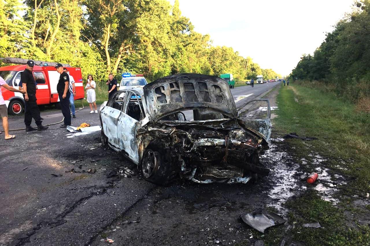 Toyota Corolla після ДТП