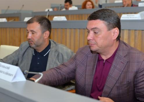 Роман Товстий та Андрій Пісоцький