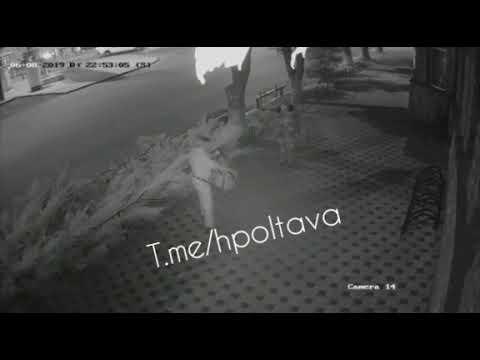 Напад на охоронця кафе «Ботанік» у Полтаві — 2 (2019.08.06)