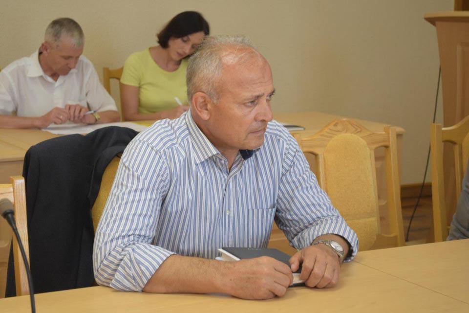 Член депутатської групи Олександр Сухань