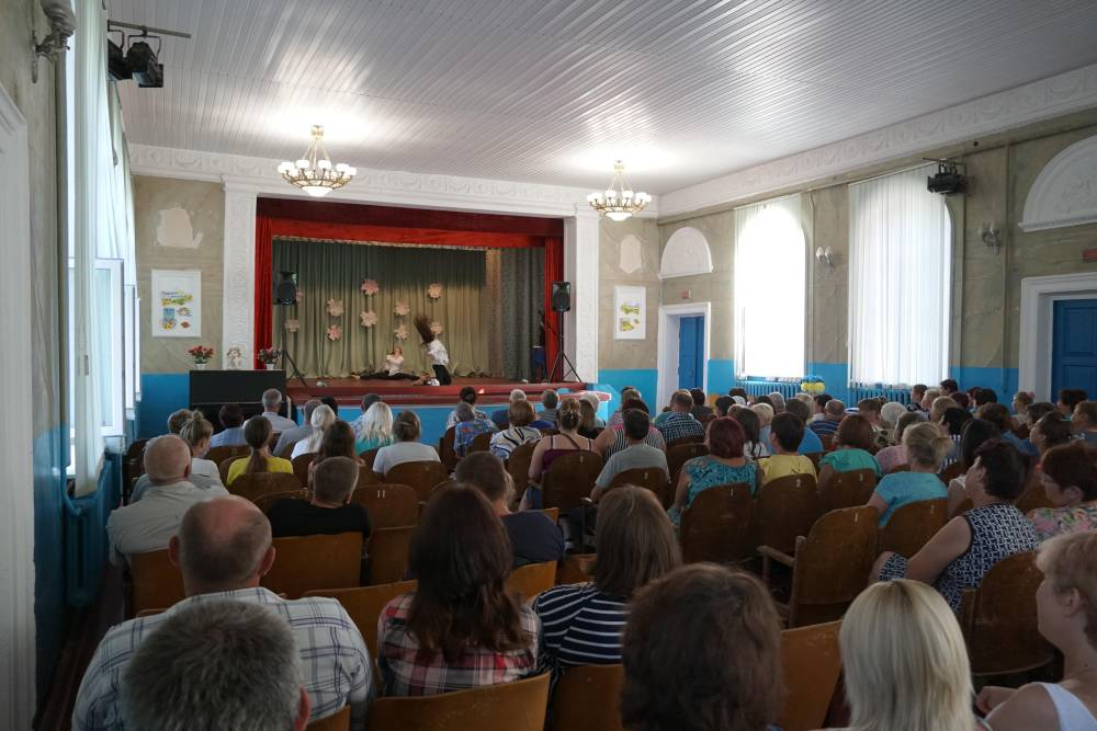 Концертна зала Василівського БК була заповнена вщент