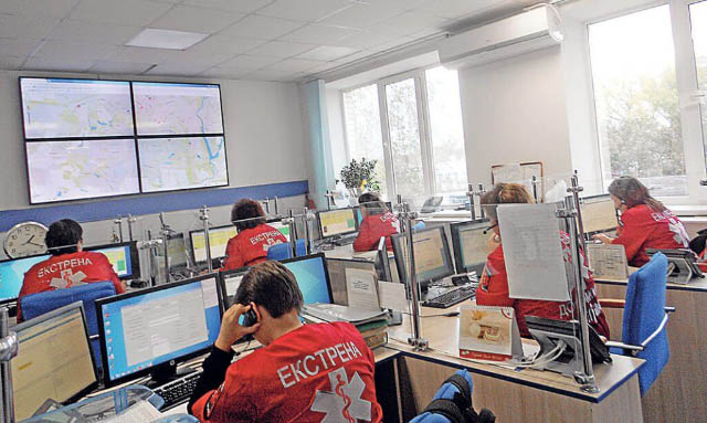 Оперативно-диспетчерська служба Центру ЕМД та медицини катастроф Полтавщини